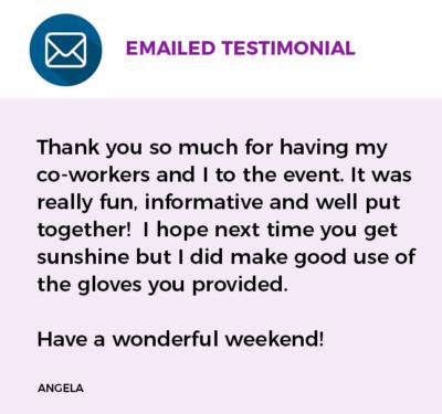 Swagchella Emailed Testimonial 3