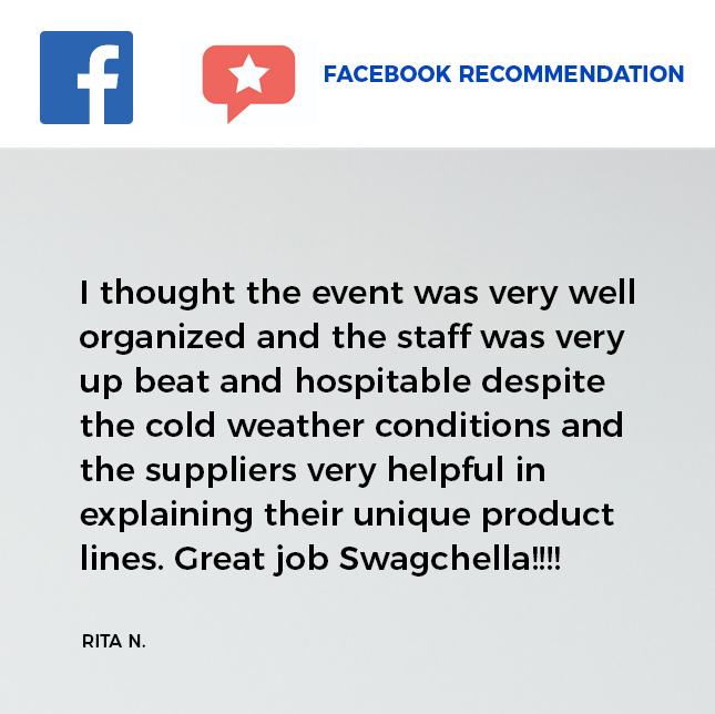 Swagchella Facebook Recommendation 2