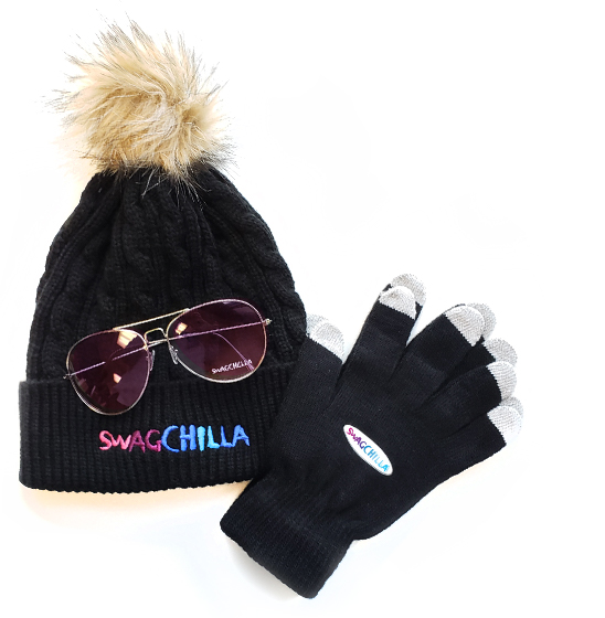 Swagchella Toque Sunglasses and Gloves