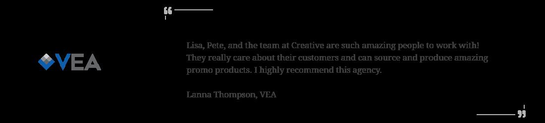 VEA client testimonial