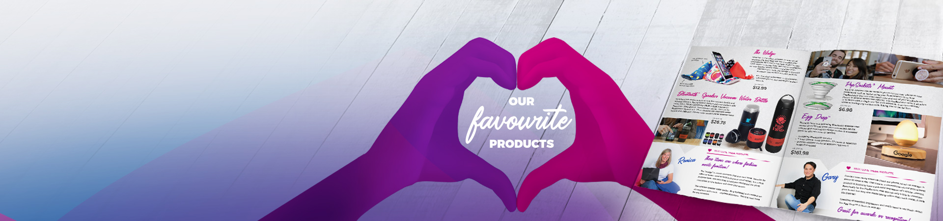 our favourite promotional products catalogue