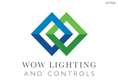WOW Lighting logo after the rebrand