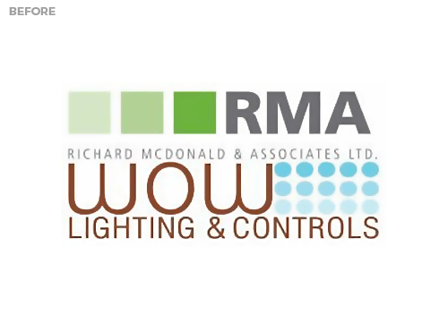 RMA WOW Lighting Old Logo