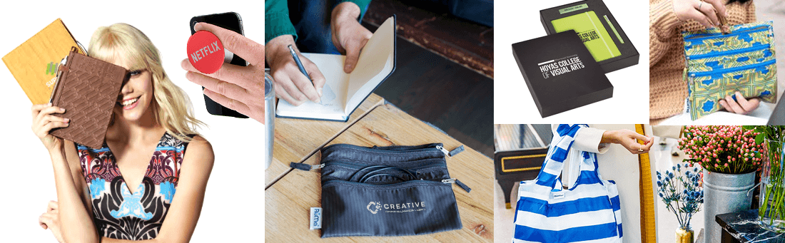 bags, journals and other useful lifestyle products