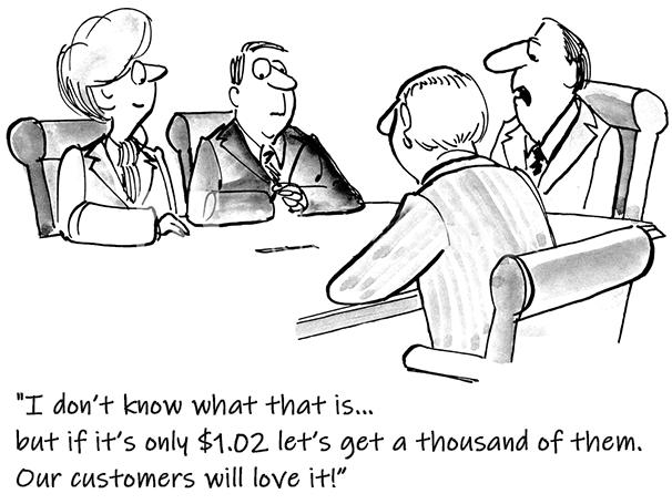 Marketing Brainstorming Cartoon