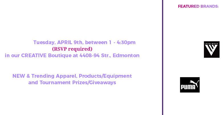 Exclusive top and new golf products event invitation