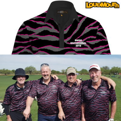 a stand-out golf tournament team shirts from Loudmouth