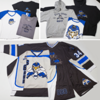 Dirty Birds ball hockey team wear