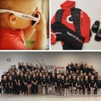 branded and personalized team wear with SGSDance logo
