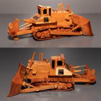 SMS Komatsu branded replica trucks