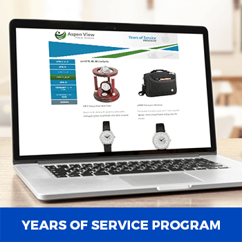 years of service online incentive program