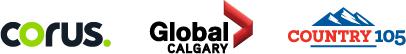 Corus Global Calgary Country105 Logos