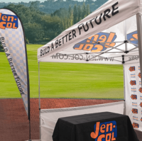tradeshow & event signage, banners and tents