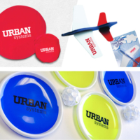 kid-friendly flyers and frisbees, promotional products in the year round promotion