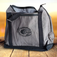 branded cotton computer backpacktote