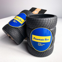 tire drink holder imprinted with client's logo