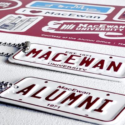 MacEwan Alumni giveaway keychains