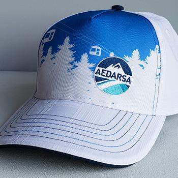 custom made branded hat