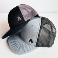 branded trucker hats