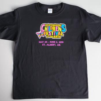 festival branded t-shirt