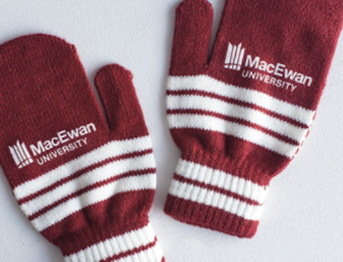 Pantone-Matched Custom Mittens For University Students