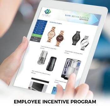 employee incentive program screen