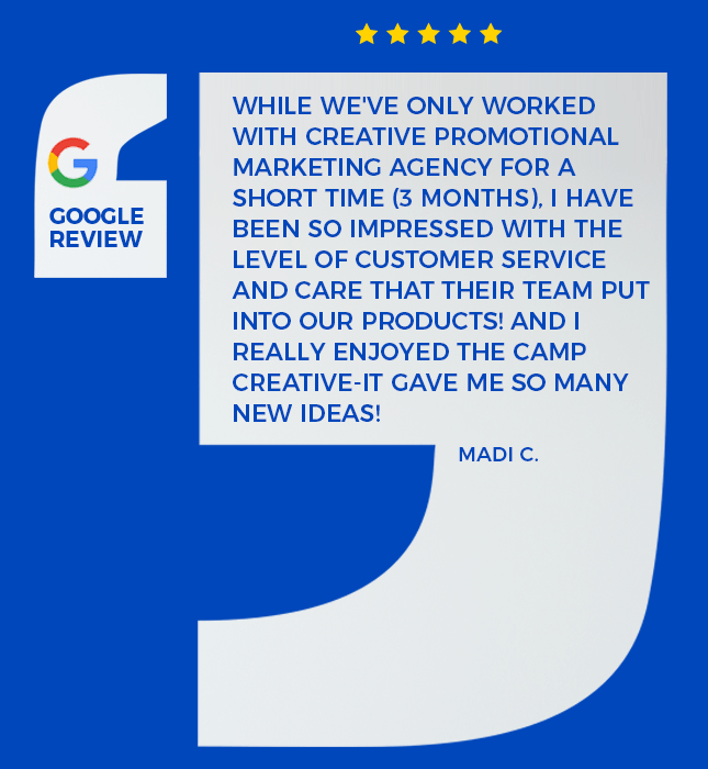Google review from one of our amazing clients