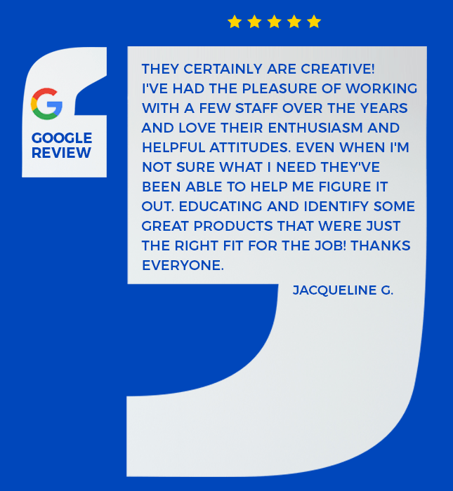 client review of our services and events
