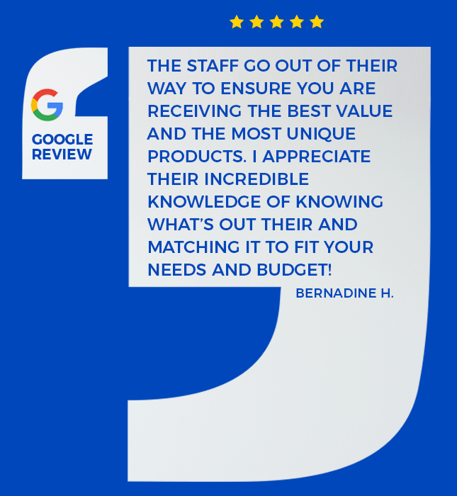 google review from one of our clients