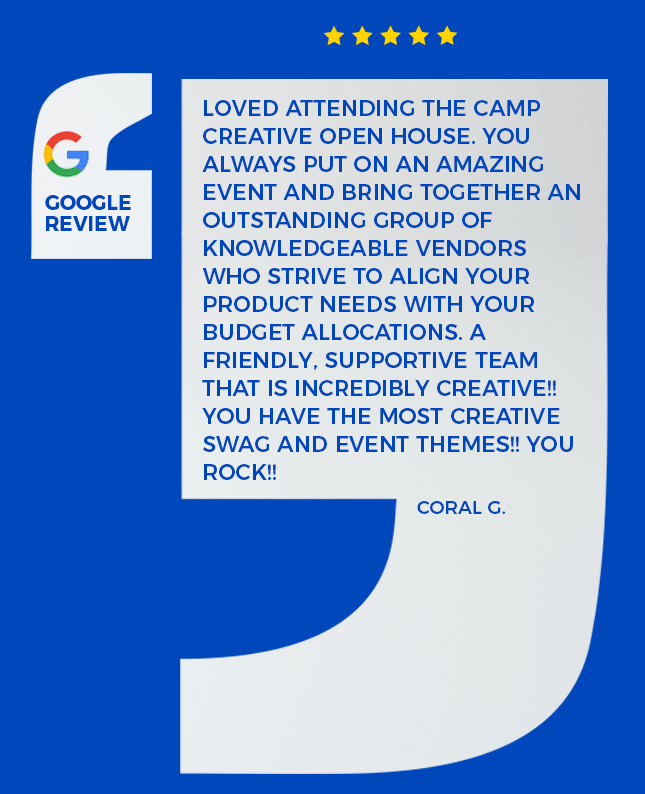 google review about our open house