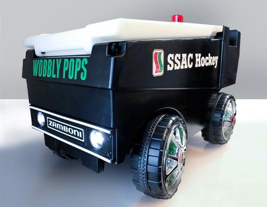 Zamboni cooler truck