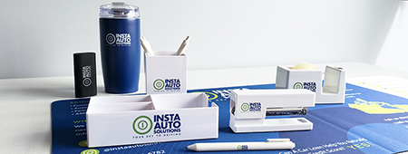 Employee Welcome Kit promotional project