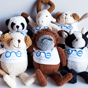 bouncy animals promotional toys for a tradeshow