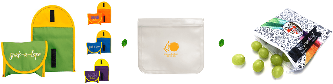 branded reusable sandwich bags