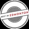 best in edmonton badge logo