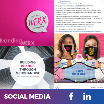 social media project to increase brand awareness
