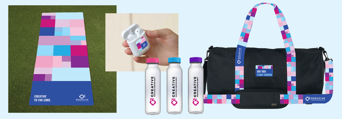 CREATIVE Office Fitness Challenge promotional products