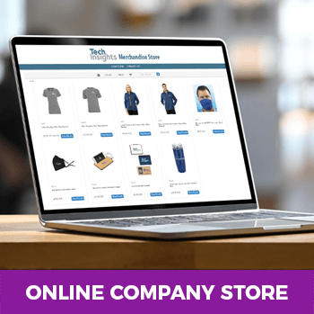 Online company store project