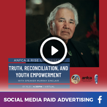 social media paid advertising campaign using a video ad on Facebook