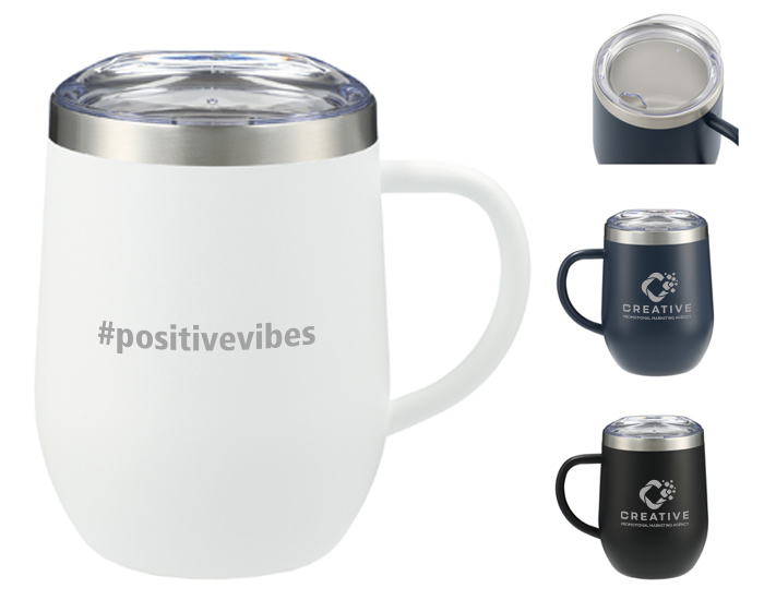 branded mugs with a fun imprint