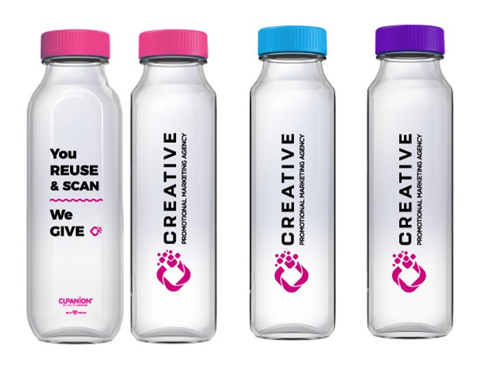 CREATIVE Cupanion bottle