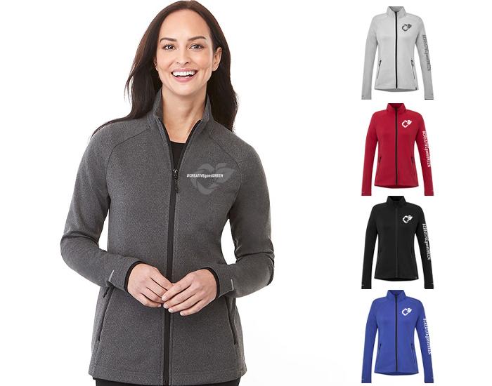 ladies' branded jacket