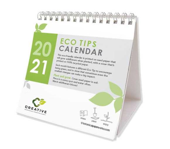 plantable seeded calendar