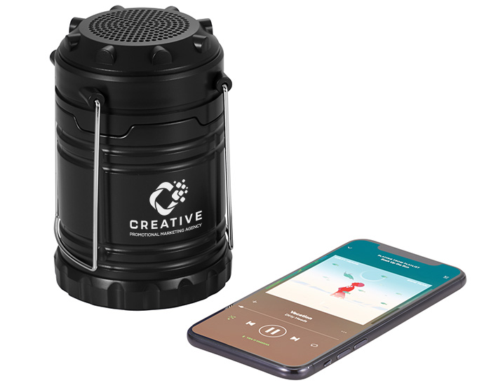 logoed bluetooth lantern speaker