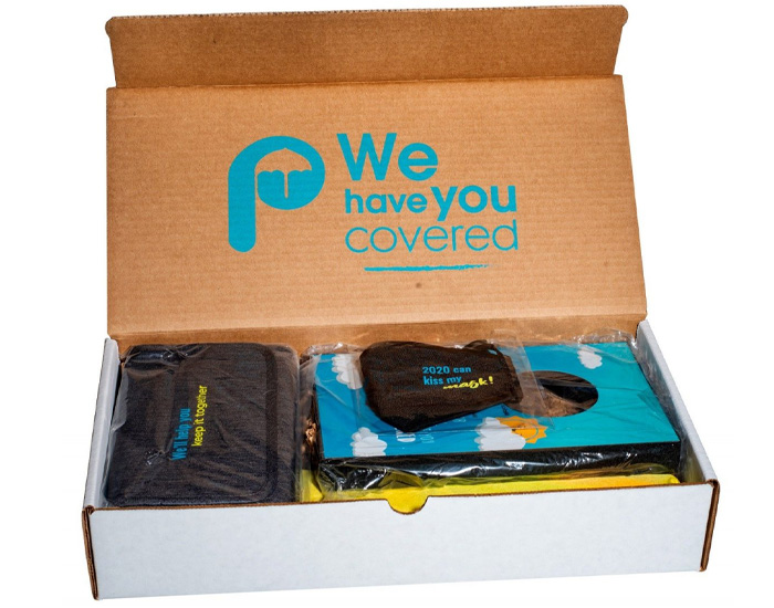 "swag box ""thank you"" kit"