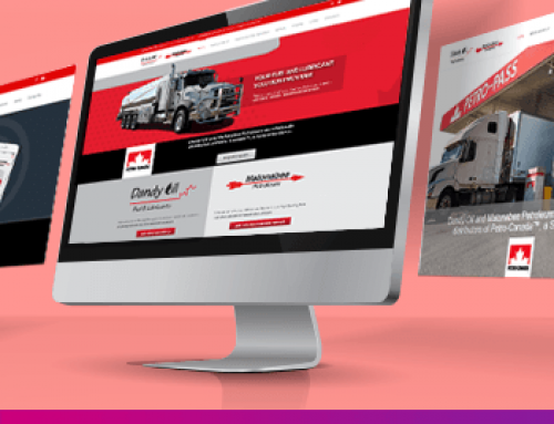 Website Design For A Fuel Distributor
