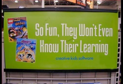 image illustrates flawed copywriting that may affect your brand image