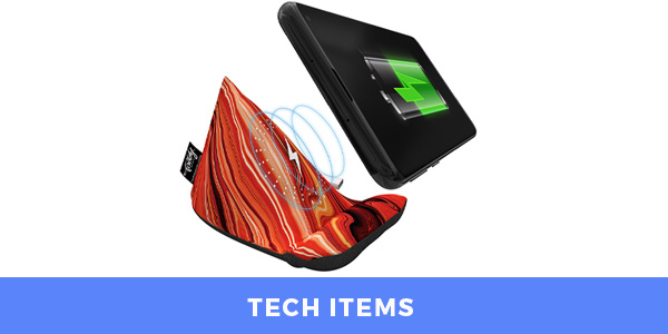 tech items promotional product ideas for custom swag boxes