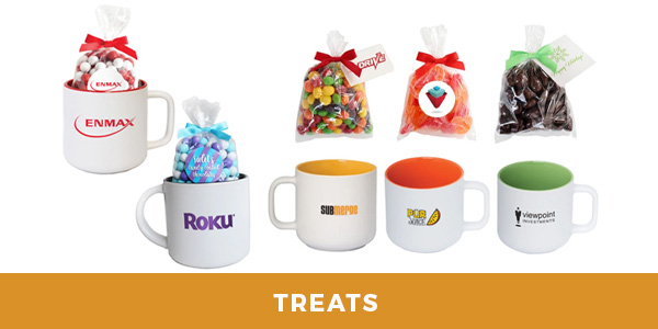 branded treats and edible promotional products