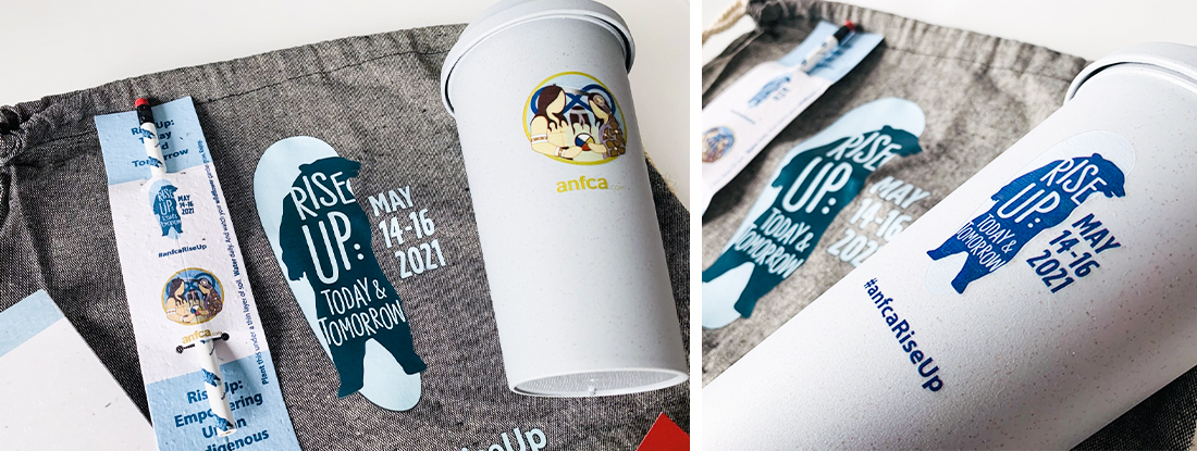 swag bags with sustainable products